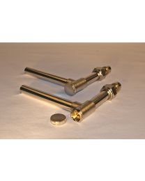 Aansluitellebogen voor radiator met ventiel (set)  - 15x1mm [prijs per stuk]