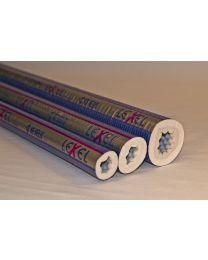LEXEL buisisolatie (tube) 9mm. 16 [Prijs per meter]