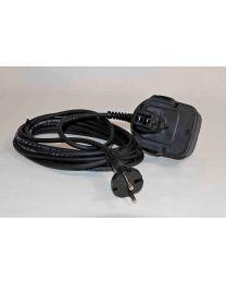 Adaptor naar rechtstreekse netstroom 230 V. voor persmachine LI-ON [prijs per stuk]