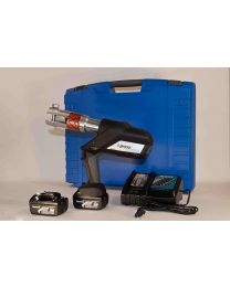 Press machineset 18 V in toolbox without jaws (pressmachine, battery, charger) (230 V. (18V LI-ON) 12 till 75) [prijs per stuk]