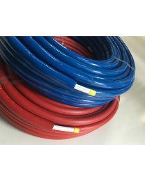 Super pert voorgeïsoleerd (rol) ISOL6 blauw [Prijs per meter]