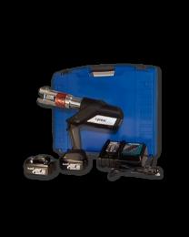 Press machineset 18 V in toolbox without jaws (pressmachine, battery, charger) (230 V. (18V LI-ON) 12 till 75) [prijs per stuk]