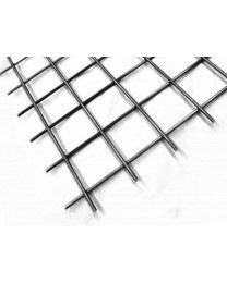 Verzinkte staaldraadmatten met raster [Prijs per stuk: 2.52m²]
