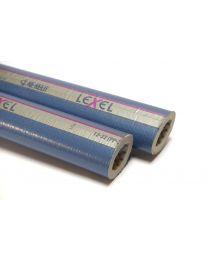 LEXEL buisisolatie (tube) 9mm. 16 [Prijs per stang]