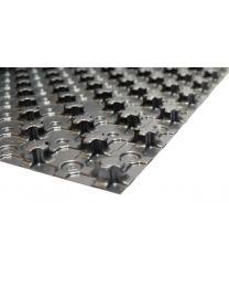 Noppenplaat zonder isolatie 00 mm. (1450x850x00mm) [prijs per m²]