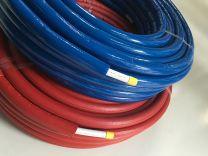Super pert voorgeïsoleerd (rol) ISOL6 rood[Prijs per meter]