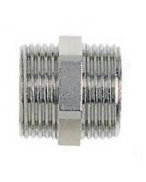 Nippel met 2 x EK aansluiting euroconus [Prijs per stuk]